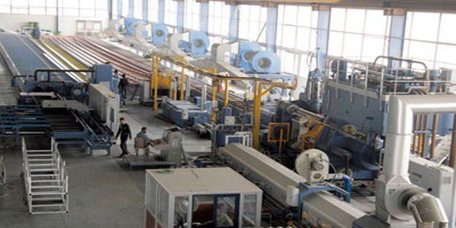 فرص عمل جديدة في اللاذقية بعد دخول ثماني منشآت صناعية طور الإنتاج