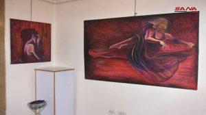 معرض فني لطلاب وخريجي وأساتذة كلية الفنون الجميلة في جامعة حلب