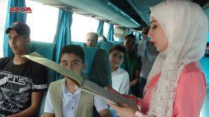 شمرا أخبار - شركة القدموس تسير أولى رحلاتها بين درعا ودمشق
