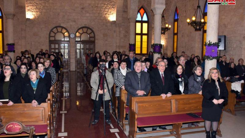 الطائفة الأرمنية تحتفل بعيد الميلاد المجيد.. المطران نالبنديان: نقطف ثمار الانتصار على الإرهاب