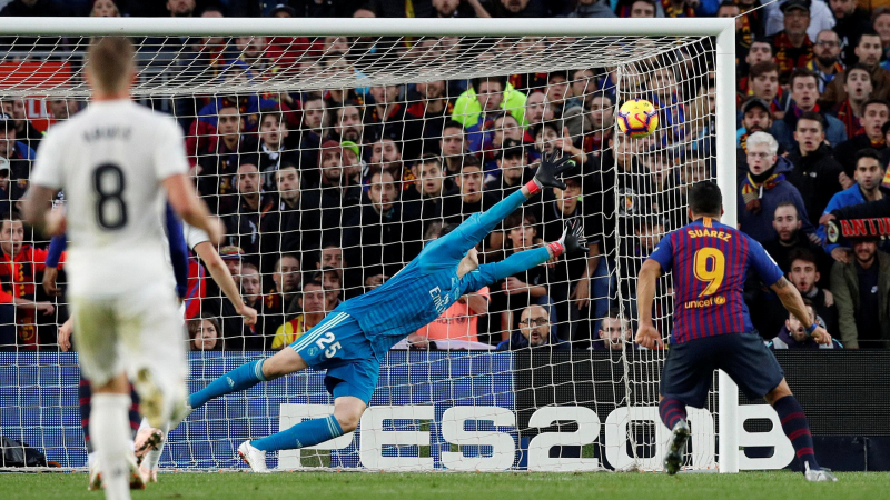Fussball l Barcelona vs Real Madrid l 4:1 (Reuters/A. Gea)