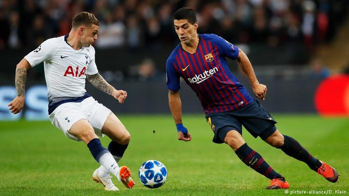 UEFA Champions League - Gruppe B: Tottenham Hotspur - Barcelona (picture-alliance/D. Klein)