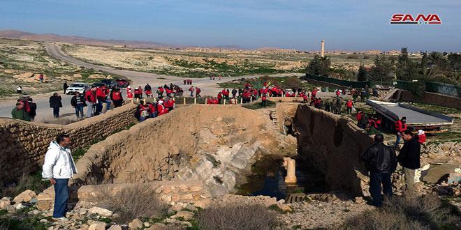 """""""أنا السوري"""" تنظم رحلة سياحية توثيقية إلى تدمر"""