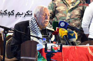 حفل تكريمي لأسر 750 شهيدا في مخيم اليرموك
