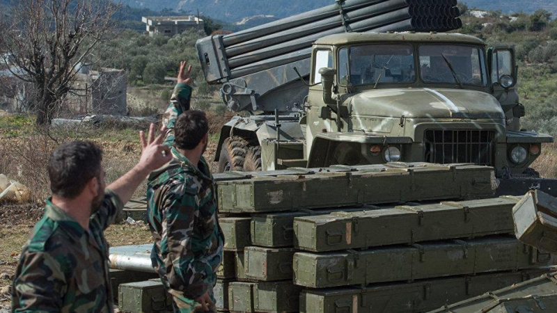 الجيش السوري في محافظة إدلب