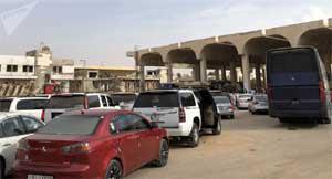 الحكومة السورية تسمح بدخول البضائع الأردنية إلى سوريا عبر معبر نصيب جابر الحدودي بين البلدين