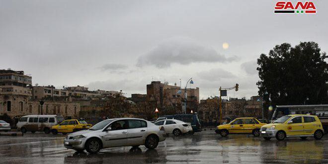 هطولات مطرية في أغلب المحافظات أغزرها 115 مم في طرطوس