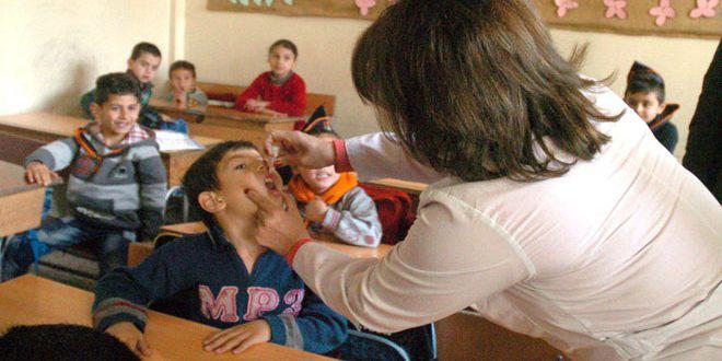تستهدف أكثر من 62 ألف طالب… انطلاق حملة اللقاح المدرسي في حمص