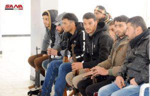 تسوية أوضاع العشرات من الفارين والمتخلفين عن خدمة العلم في دمشق