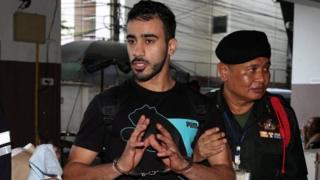 العريبي احتجزته تايلاند العام الماضي بعد طلب البحرين