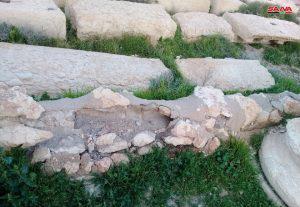 أسلوب هندسي فريد منذ آلاف السنين لأقنية جر المياه في تدمر