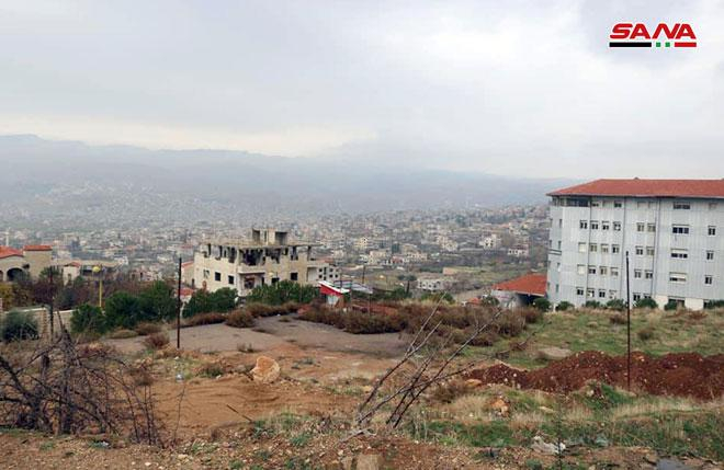استكمال تنفيذ المشاريع في مدينة الزبداني وقريبا المباشرة بإعادة تأهيل بلدات وادي بردى