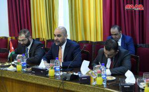 بحث سبل تطوير العمل البرلماني السوري الأردني