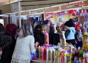 130 شركة في مهرجان التسوق الشهري بحمص