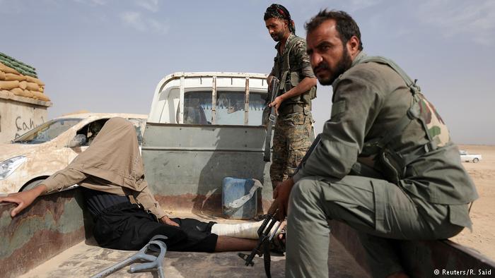 Syrien Kämpfe gegen den IS (Reuters/R. Said)