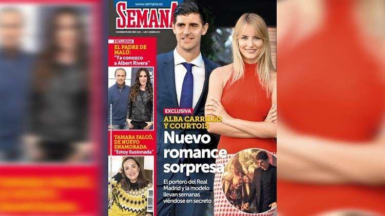 علاقة عاطفية جديدة لحارس مرمى ريال مدريد