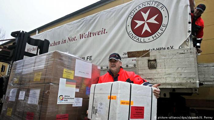 Johanniter schicken medizinische Hilfe nach Sri Lanka (picture-alliance/dpa/dpaweb/U. Perrey)