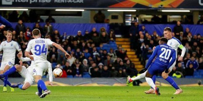 تشيلسي يتغلب بسهولة على دينامو كييف في الدوري الأوروبي