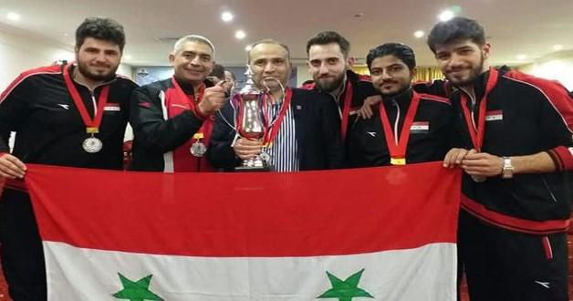 حلّت سوريا ثانية وراء تونس المضيفة
