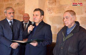 بتكليف من الرئيس الأسد… محافظ اللاذقية يقدم التعازي بوفاة اللواء عيد العلي