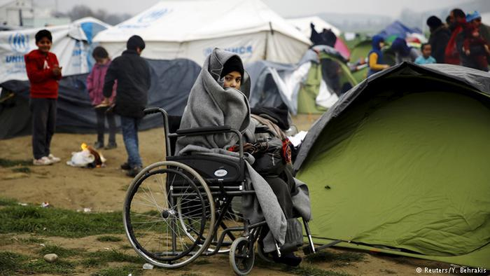 Griechenland Mazedonien Flüchtlinge bei Idomeni (Reuters/Y. Behrakis)