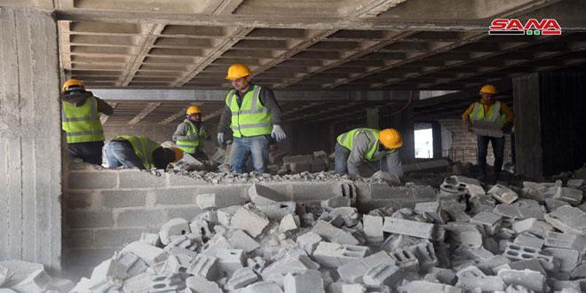 بدء أعمال الصيانة لتأهيل مجمع يلبغا