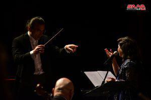 أمسية للفرقة الوطنية السورية للموسيقا العربية بقيادة المايسترو اللبناني آندريه الحاج