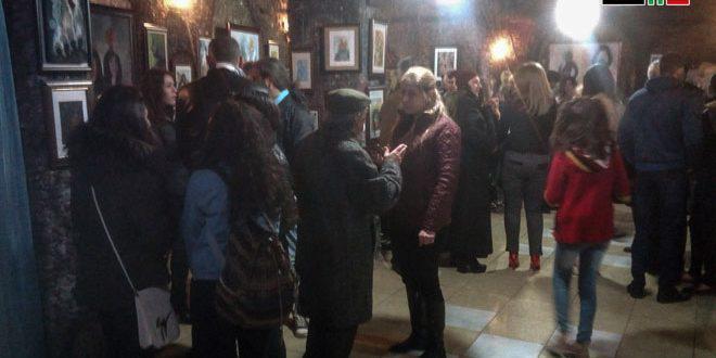 (أمل ولون) معرض فني للتشكيلي مروان جمول بالسويداء