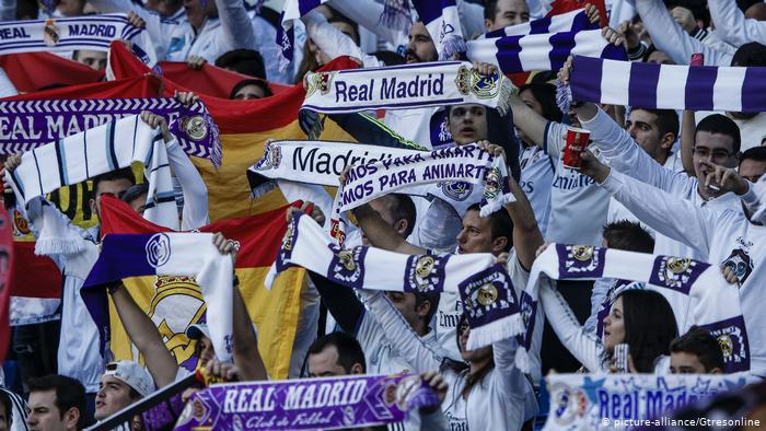 Fußball Fans Real Madrid (picture-alliance/Gtresonline)