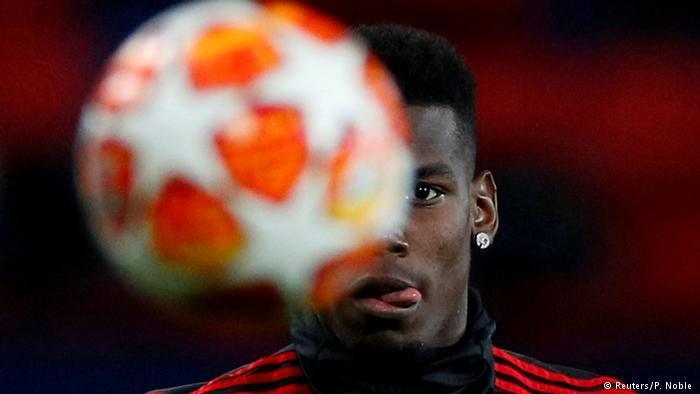 Champions League Manchester United v Paris St Germain Paul Pogba (Reuters/P. Noble )