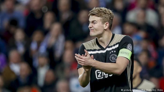 Fußball Champions League Real Madrid - Ajax Amsterdam (picture-alliance/Pro Shots/H.J. Dijks)