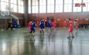 تواصل منافسات إياب دوري كرة اليد لفئة الشباب