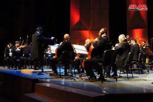 الفرقة الوطنية السورية للموسيقا العربية تختتم أيام مهرجان دمشق الثقافي