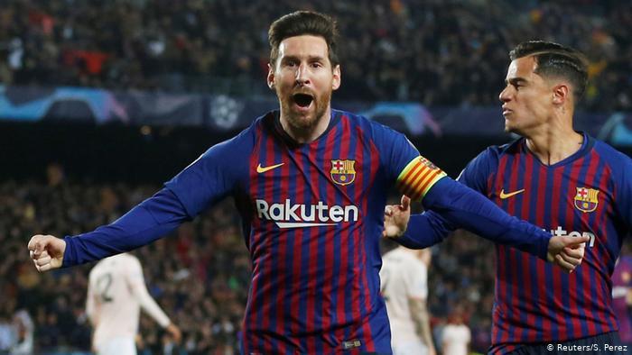 Champions League Barcelona gegen Manchester United | (Reuters/S. Perez)