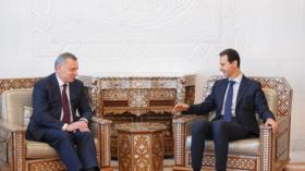 موسكو تبحث مع الأسد دورها في إعادة إعمار سوريا وتنقل له رسائل إيجابية من القيادة السعودية
