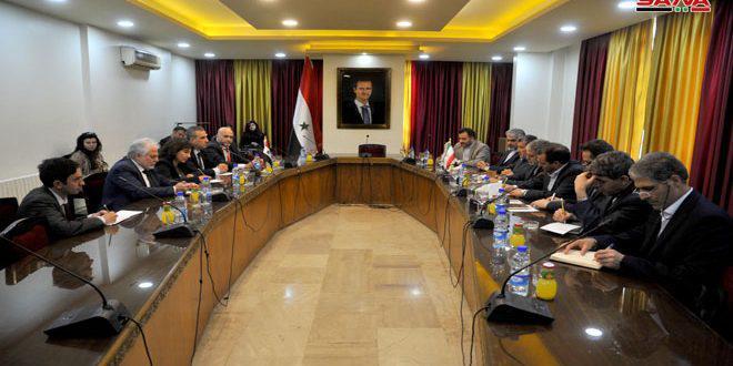مباحثات برلمانية سورية إيرانية لتعزيز العلاقات بما يخدم مصلحة الشعبين في البلدين