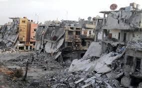 معالجة 1000 مبنى خطر في حلب