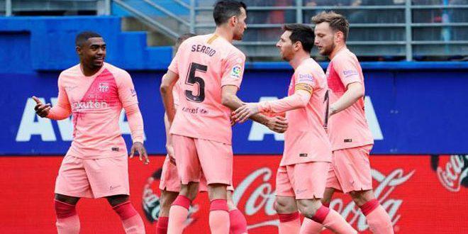 برشلونة ينهي موسمه بتعادل مع ليفانتي في الدوري الإسباني