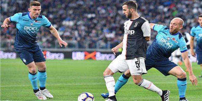يوفنتوس يتعادل مع أتلانتا في الدوري الإيطالي