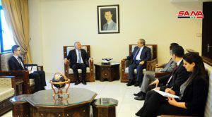 المبعوث الخاص لرئيس طاجيكستان: نسعى لتطوير العلاقات مع سورية
