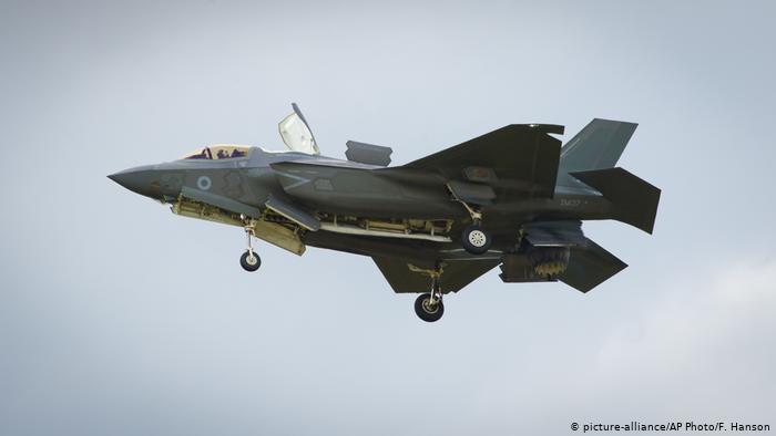 F-35 Kampfjet (picture-alliance/AP Photo/F. Hanson)