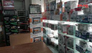 حمص.. افتتاح صالات جديدة للسورية للتجارة وتشديد الرقابة على الأسواق