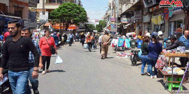 تنظيم 647 ضبطاً تموينياً في حمص خلال شهر رمضان المبارك