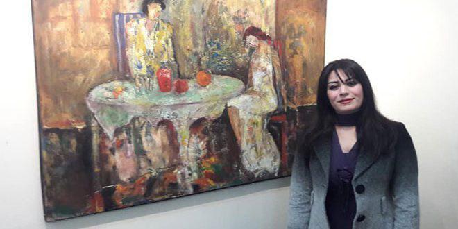 التشكيلية مفيدة الديوب: الفنان السوري أثبت وجوده على مستوى العالم