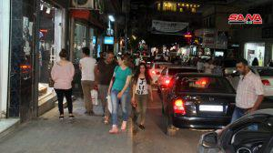 حركة نشطة في أسواق طرطوس