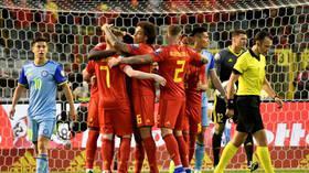 بلجيكا تهزم كازاخستان بثلاثية في تصفيات