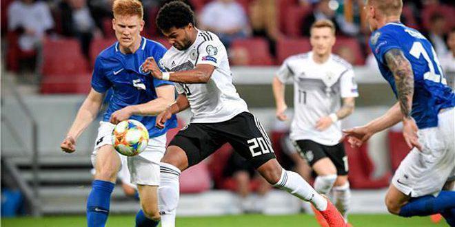 ألمانيا تفوز على إستونيا بثمانية في تصفيات أوروبا 2020
