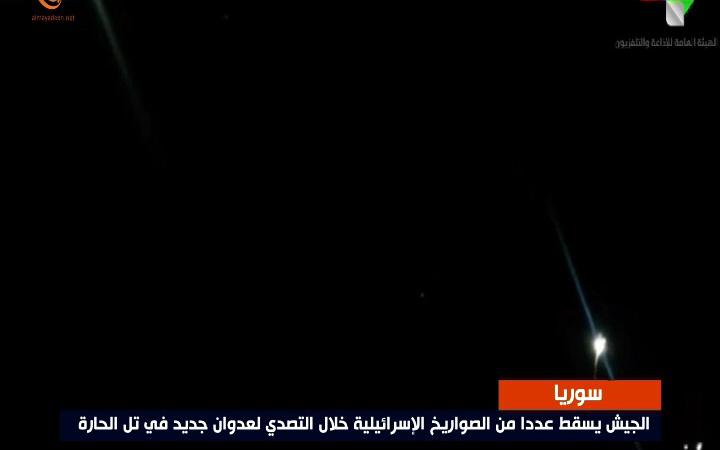 العدوان الإسرائيلي ألحق بتشويش على الرادارات السورية