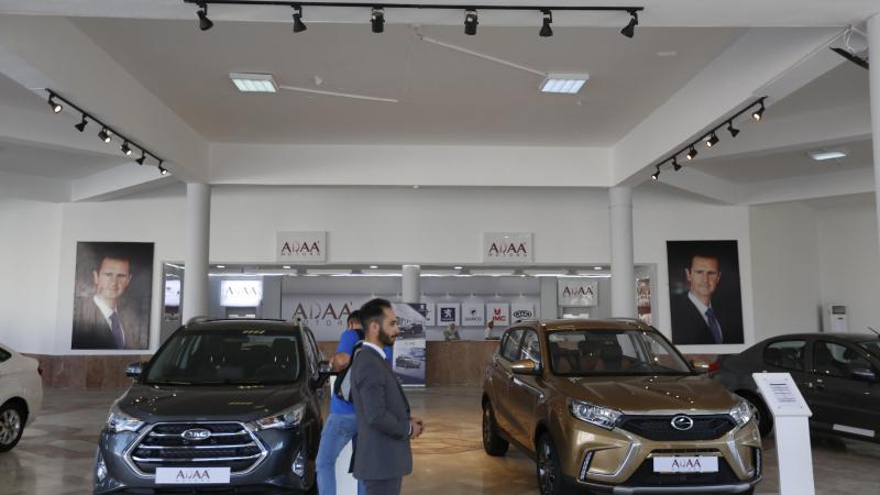 السيارات السورية في موتور شو