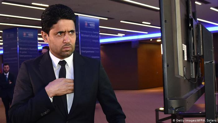Italien Rom - FIFA: Nasser Al-Khelaifi (Getty Images/AFP/A. Solaro)